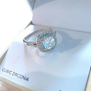 Gorgeous Charter Club Silver Ring Size 6